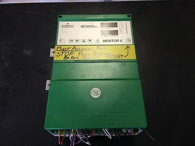USED Control Techniques | Mentor II DC Drive M210R-14ICD, 100 HP, 220/480v