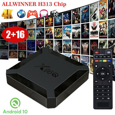 MXQ PRO Smart TV Box Android 7.1 H3 Quad Core 1+8G WIFI 4K 3D HDMI Media Player