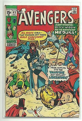 Marvel (1963 Series) Avengers #83 - 1St Lady Liberators + Valkyrie - Vg/fn