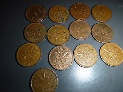 Canadian coins.  Mixed  lot.