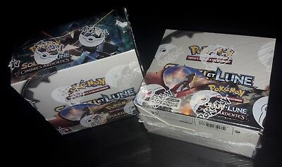 Lot 2 Boites de POKEMON OMBRES ARDENTES Display 36 boosters - French - Neuf !