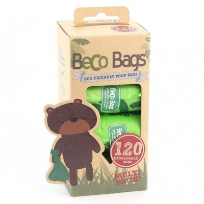 Becothings BecoBags Lot de 120 sacs poubelles biodégradables Ultra-résistants 22