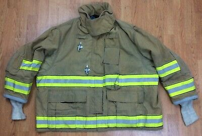 Globe GX-7 Firefighter Bunker Turnout Jacket 50 Chest x 29 Length