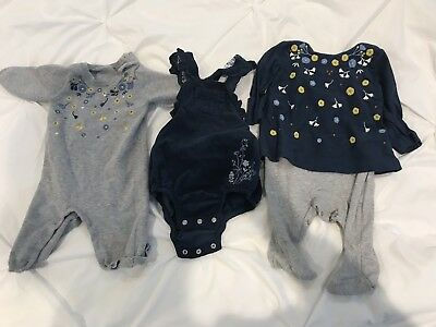 Mothercare Baby Girl Bundle 0-3 Months All Worn Once
