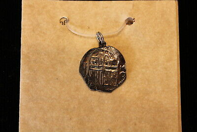 Atocha 1622 Mel Fisher Real Pendant with C.O.A.
