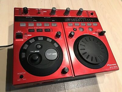 Pioneer Performance Mixer EFX-500 - RED (RARE)