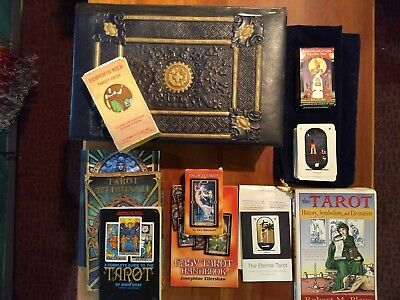 Tarot Card and Book Collection