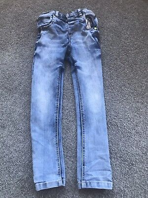 Boys Next Skinny Jeans Age 4-5 years With Adjustable Waist