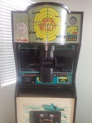 1976 Midway Sea Wolf Arcade Game