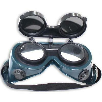 Ventilated Welding Goggles With Flip-Up Lens Non Fog Chemical Resistant