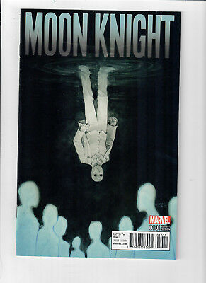 MOON KNIGHT (Vol. 6) #10 - Grade NM - 1 in 25 Tyler Crook cover variant!