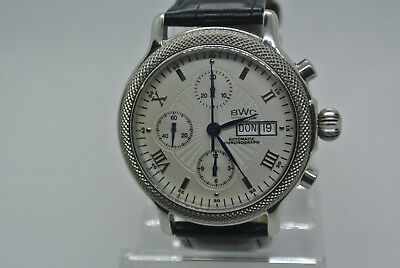 BWC Automatik Chronograph, Herrenuhr, ETA 7750, Swiss made,TOP