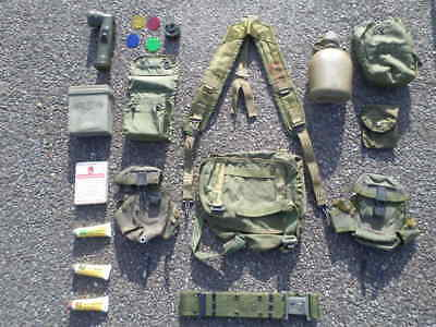 us army alice webbing set  assaut brelage ceinturon airsoft.