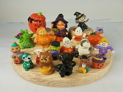 20 Halloween Russ Hallmark Merry Miniatures Witch Ghost Scarecrow Frankenstein