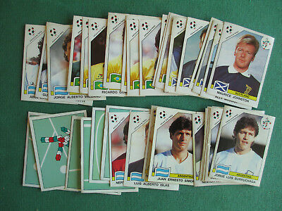 Lotto 37 Figurine Italia '90 Panini World Cup 1990 Nuove Stickers New Calciatori