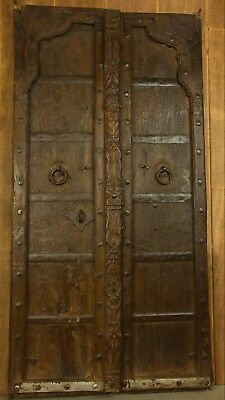 Carved Antique Indian Mehrab Door - 8241