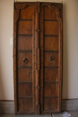 Carved Antique Indian Mehrab Door - 8531