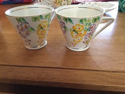 plant tuscan china made in england yellow flower