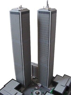 LEGO WORLD TRADE CENTRE TWIN TOWERS instructions for architecture modular MOC