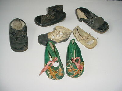 Vintage Lot Baby Shoes