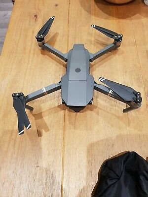 DJI Mavic Pro 4k Quadcopter Drone With DJI Carry Case And Accessories