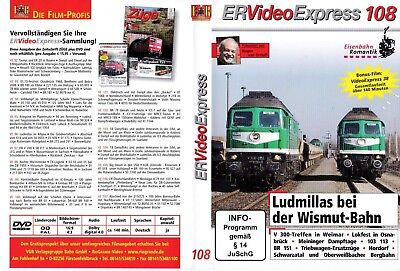 DVD Eisenbahn Romantik ER  Video Express  Ausgabe 108  inkl. Video Express 38