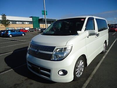 NISSAN ELGRAND HIGHWAY STAR FULL LEATHER 2,5v6 2008 SERIES 3 MODEL E51 FRESH CAR