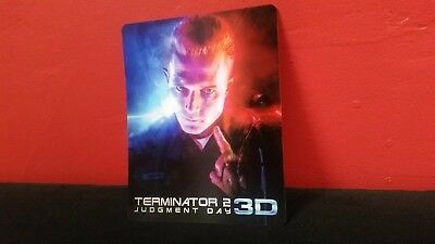 TERMINATOR 2 T2 - 3D Lenticular Magnet / Magnetic Cover for BLURAY STEELBOOK