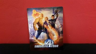 FANTASTIC FOUR 4 - 3D Lenticular Magnet / Cover for BLURAY STEELBOOK
