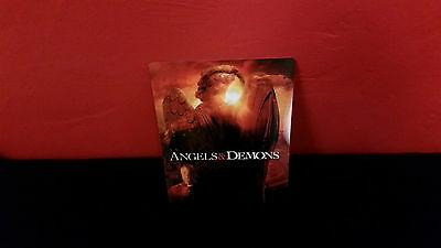 ANGELS AND & DEMONS - 3D Lenticular Magnetic Cover / Magnet for BLURAY STEELBOOK