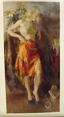 Ready for Romance by Garmash, giclee on canvas