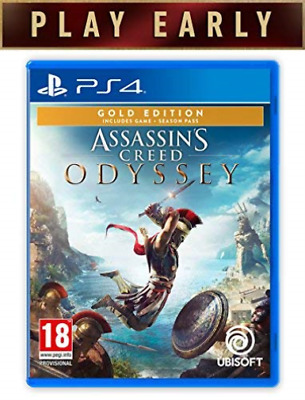 Assassin`s Creed Odyssey Gold Edition PS4 Game GAME NEW