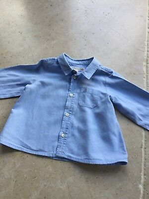 Boys Blue Bonpoint Shirt 18 Months
