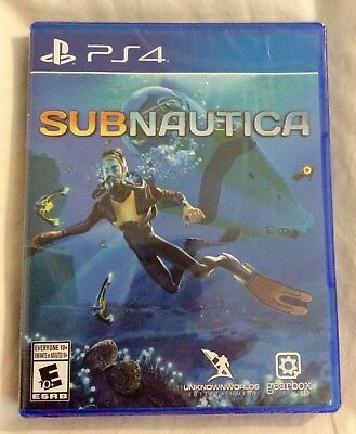New, Sealed! Sub Nautica SUBNAUTICA PlayStation 4 PS4