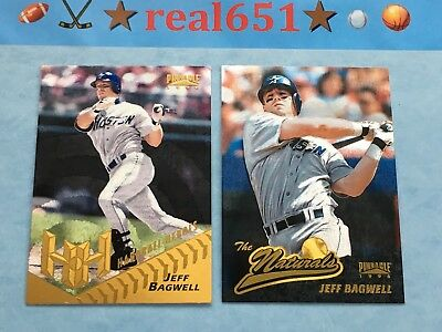 1996 Starburst Lot JEFF BAGWELL The Naturals #78 | Hardball Heroes 159 Pinnacle