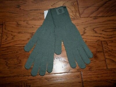 U.s Military Issue D3A Cold Weather Glove Inserts Liners 100% Wool Size Large