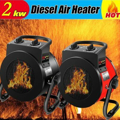 ECO HOT!! 3KW Electric Industrial Fan Heater Household Heater Warmer For Home NC