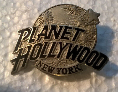 Planet Hollywood NEW YORK CITY Vintage Lapel Pin Button Pinback FREE SHIPPING !!