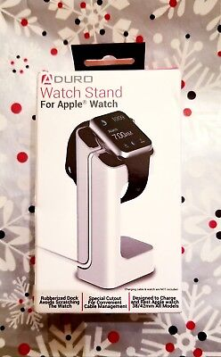NIB ADURO Watch Stand for Apple Watch.  Designed to rest APPLE Watch.
