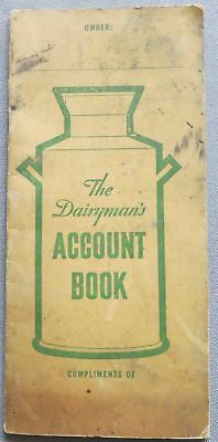 Dandelion Brand Butter Coloring Account Book Wells & Richardson Co Burlington VT