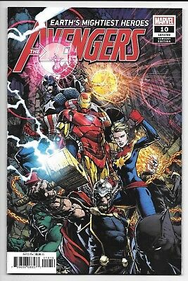 Marvel Comics AVENGERS #10 first printing Finch variant