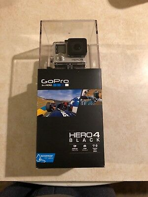 NEW GoPro Hero 4 Black Edition 4K Ultra HD Waterproof Action Camera Camcorder
