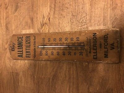 Antique Advertising Thermometer