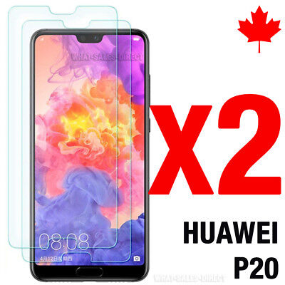Tempered Glass Screen Protector For Huawei P20 (2 PACK) -Canada