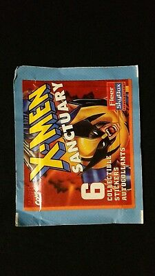 1996 Panini Fleer Skybox X-Men Sanctuary Sticker Pack