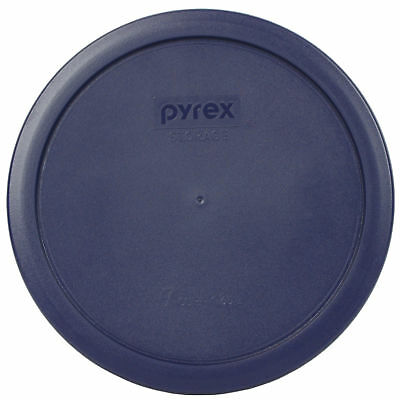 Pyrex 7402-PC 2PK 1-Blue and 1-Red 6 / 7 Cup Storage Lid Cover for Glass Bowl