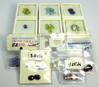Huge Mixed Gemstone Lot – 54.10 ct Total – Retail Value Over C $2500.00 - N.R.