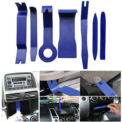 7pcs Car Stereo Door Trim Dash Panel Removal Audio Installation Pry Tool Kits US
