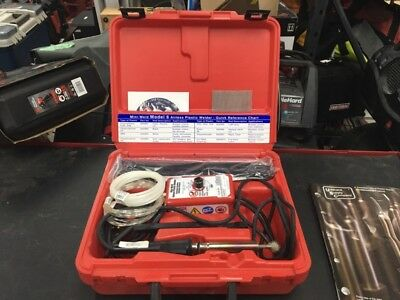Mini-Weld Model 6 Mod:5600Ht Airless Plastic Welder (Tea006031)