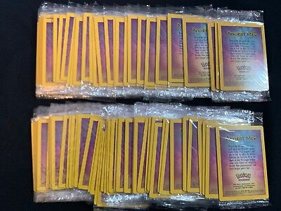 Pokemon ANCIENT MEW SEALED HUGE CARD LOT x100 Black Star PROMO Pokemon Cards